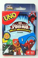 Marvel Spiderman UNO Card Game Brand new sealed package Mattel Games Rare