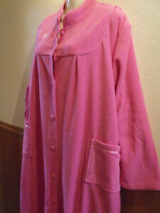 BRAND NEW LADY OLGA DRESSING GOWN - PINK 22/24 & 26/28