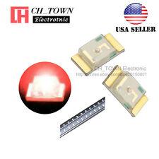 100PCS 1206 (3216) Red Light SMD SMT LED Diodes Emitting Ultra Bright USA