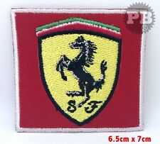 Ferrari Motor Racing Sport Horse logo iron/sew on Embroidered Patch