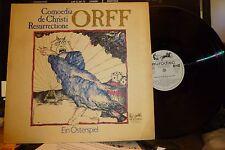 "CARL ORFF ""Comoedia De Christi Resurrectione - Ein Osterspiel"" LP, NM/VG+ Poster"