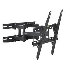 Easy Install DOUBLE ARM Tilt And Swivel Universal TV Bracket Holder Wall Mount