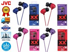 Genuine JVC HA-FX102 XTREME XPLOSIVES Inner Ear Headphones Earbuds Xtreme Bass