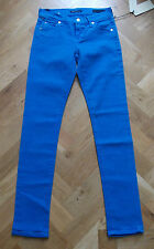 BNWT CITIZENS OF HUMANITY AVEDON LADIES SKINNY LOW WAIST BLUE JEANS WAIST 24""