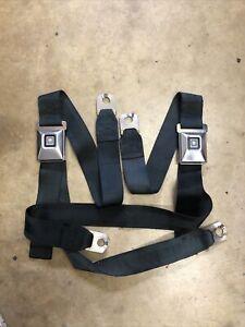 GM Deluxe Seat Belt Lap Chevy Chevelle El Camino A Body Cadillac Camaro 68 69 70