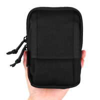 Boblov Police Body Worn Camera Bag Carry Case Protective Bag Double Zipper Black