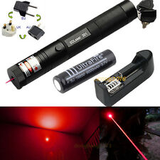 Military Red 1MW 650NM Laser Pointer Pen Light 301 Lazer Visible Beam Focus Cats