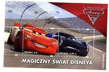 Sellos Walt Disney Polonia 2017 Cars Pixar Disney stamps