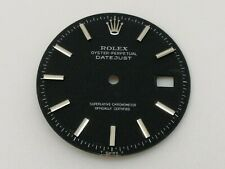 ROLEX VINTAGE 1601 DATEJUST WATCH BLACK MATTE DIAL 28 MM (MINT & 100% ORIGINAL)