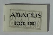 Abacus guide book (en Anglais)