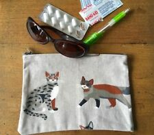 Cats 19  x13 cmGirls/ Ladies Australian made Pencil Case , Mobile Phone