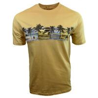 Mens Tee T Shirt M L XL XXL Beach Relax Surf Aloha Wave Hawaiian 100% Cotton NEW