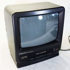 "Emerson VT1321 13"" Color TV Monitor Built-in VCR Combo"