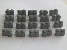 LEGO 30136# 20x pallisade 1x2 Nuovo Grigio Scuro Grigio 4738 7667 10179 10195 4756