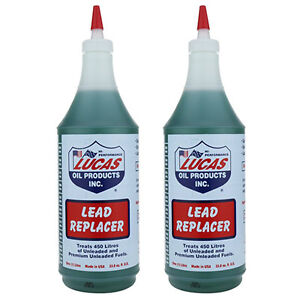 2 x Lucas Lead Substitute Replacement Fuel Additive Treatment Unleaded Petrol 2L