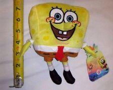 "Sponge Bob Squarepants 7"" Stuffed Plush Doll by Nick Jr.- New with Tags!!!"