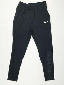 Nike Academy 18 Soccer Training Sweat Pant Youth Unisex M Black 893746 Pockets
