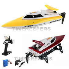 Ft-007 4ch 2.4 GHz HIGH SPEED RACING Radio Remote Control RC BOAT EP RTR