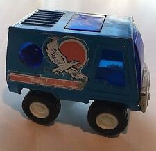 VINTAGE BUDDY L BLUE MOON BUGGY VAN ORIGINAL PRESSED STEEL METAL BODY