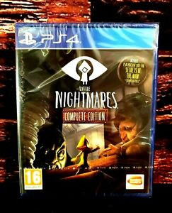 Little Nightmares - Complete Edition - Playstation 4 - PS4 - Brand NEW - Sealed