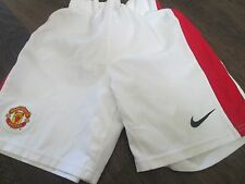 Manchester United Home 2012-2013 Football Shorts 4-5 Years  waist  /bi