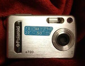 Polaroid digital camera a700