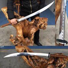 Hand Forge Chinese Swords (斬馬刀) Katana High Manganese Steel Sharp Blade #407
