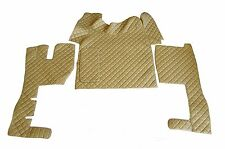 TRUCK Floor Mats LHD For VOLVO FH AUTOMAT 2006-2014 BEIGE Eco Leather