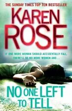 No One Left To Tell (The Baltimore Series Book 2),Karen Rose