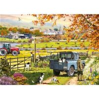 1000 piece Jigsaw Puzzle   Autumn Countryside   Border Collies   Brand New