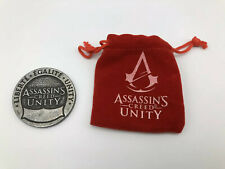 ASSASSINS CREED Unity Coin - LOOTCRATE Exclusive - Comes With Velvet Pouch