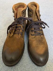 Frye Gordon Lace Up Boots 10.5
