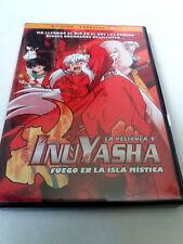 """DVD """"INUYASHA LA PELICULA 4 FUEGO EN LA ISLA MISTICA"""" EDICION ESPECIAL RUMIKO TA"""