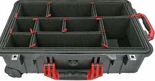 TrekPak Dividers for the Pelican 1510. W/ 2 Red handles / 2 latches + Extra PCS