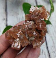 """2.2"""" ARAGONITE Specimen Cluster D8 Crystal Reiki Charged 1.8oz *Read Below*"""