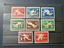 Yugoslavia Olympic Stamps 1956 # 461-468 M N H