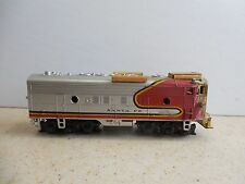 HO SCALE ~ CUSTOM BUILT SANTA FA DUMMY LOCOMOTIVE