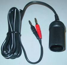 Cigarette Lighter Plug Adapter on Banana Plug 8A at 12VDC D42