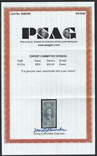First Issue Revenue Stamp R101a Imperforate With PSAG Certification