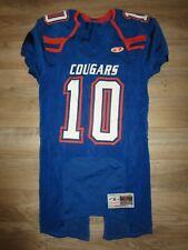 Cougars High School Football Team Game Worn Jersey Medium M