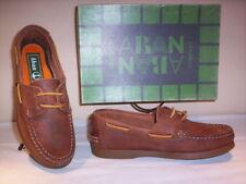 chaussures basses mocassins Aban bébé cuir décontractée brun lacets 31 33