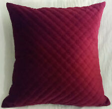 NEW Arlee Home Fashion Pillow 24 in x 24 in Burgundy