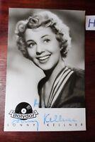 Postkarte Ansichtskarte Schauspielerin Lonny Kellner Autogramm