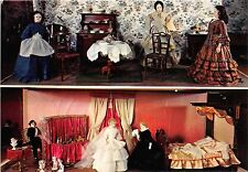 BF38987 monaco la sale de manger et la chambre des maries  poupees  art postcard