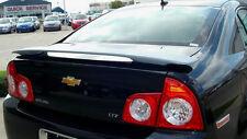 Fits 2008 - 2012 Chevrolet Malibu 4dr Custom Spoiler Wing Primer