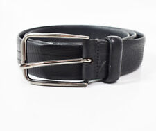 Strellson Classic Mens Leather Belt Black Size 34 b741a25e838