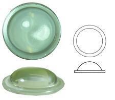 Bleiverglasungstein Bullauge glatt und extra hoch, Ø ca. 50 mm, h ca. 14 mm