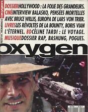 Oxygen - 002 -Novembre 1991 balasko Boris vian Céline-tardi Rap Bashung Pogues