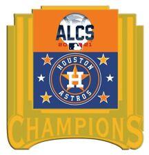 Houston Astros Alcs Champions Broche 2021 MLB World Série Or Métal Base Limitée