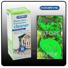Interpet Plastic Plant Ornamnet Cleaner Clean Hair Algae Fish Tank Aquarium Deco